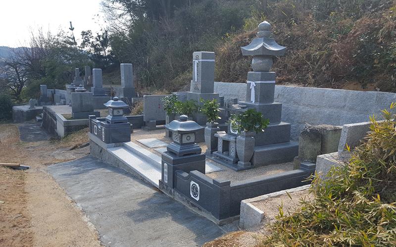 お墓のリフォーム後