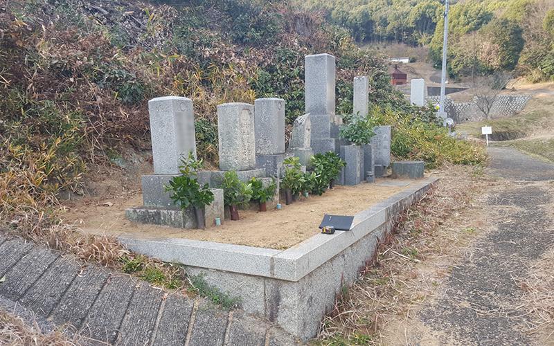 お墓のリフォーム前