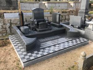 墓石施工例