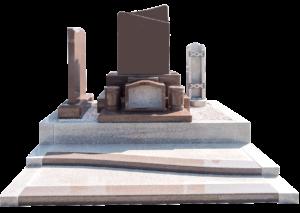 ニューインペリアルレッド洋墓+G663外柵スペシャルセット