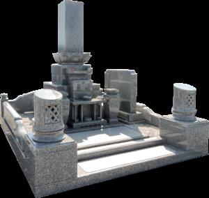アーバングレー尺寸レンゲ付先祖墓