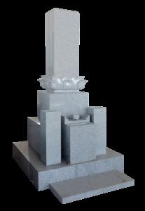 九寸レンゲ付夫婦墓