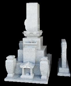 九寸角レンゲ付先祖墓