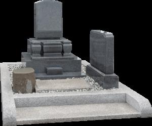 洋墓(黒御影石)