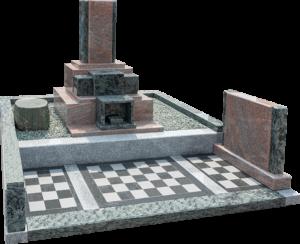 洋墓(マルチカラーレッド+オリーブグリーン+AG213)