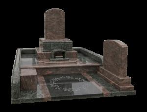 洋墓(ヒマラヤンブルー+オリ-ブグリーン+M-10)